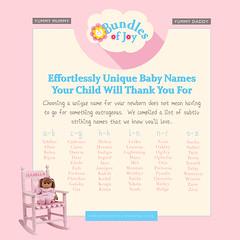 BABY NAMES 2018 [EFFORTLESSLY UNIQUE NAMES FOR BABIES] (bundlesofjoyshopping) Tags: babies names baby name babyname babynames