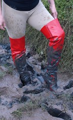 Very sexy muddy thigh boots!!! (ThighBootsinMud) Tags: boots bottes stiefel сапог сапоги ботфорты thigh mud muddy boueux schlamm грязь wet messy wam platform heels каблук каблуки talons boot fetish fetichisme фетиш cuissardes outdoor