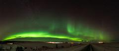 Aurora Borealis in Iceland (George Pachantouris) Tags: iceland north arctic cold winter snow white aurora borealis ice frozen freeze nordics northern lights top20aurora