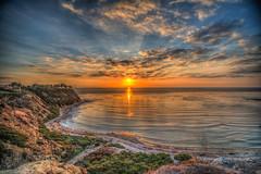 Lunada Colors (Michael F. Nyiri) Tags: palosverdespeninsula ocean sunset southerncalifornia colorful clouds sea cloudscape lunadabay palosverdesestates