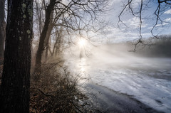 January Fog and Light .v2 (crmanski) Tags: berlinct connecticut landscape timberlinpark winter fog ice