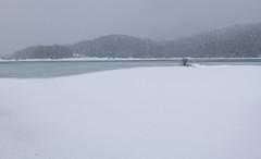 Cerknica Lake (happy.apple) Tags: slovenia si cerkniškojezero cerknicalake slovenija intermittentlake presihajočejezero winter snow zima sneg snowstorm