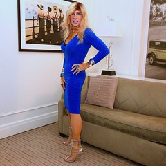 Cortney - Blonde in Blue dress and Silver heels...... (Cortney10100) Tags: cortneyanderson cortney anderson portrait people nails indoor thigh domme stilettos crossdresser crossdress transvestite transsexual trannie tranny femme highheels heels transgender tgurl tgirl tg tv dress cobalt blue silver blonde