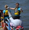 Winning (swong95765) Tags: victory woman female lady fist smile happy dragon boat