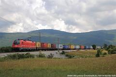 Sž 541-002 (Davuz95) Tags: sz 514 002 train freight koper line crnotice taurus container