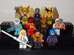 Legends of Tomorrow (GermanBrickster) Tags: dc minifigures comics lego dceu superheroes superman collection arrowverse minifigure batman flash bricks cw toys blocks custom