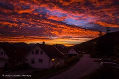Aftenstemning i Smiebakken (Askjell) Tags: evening møreogromsdal norge norway scenery smiebakken solnedgang sunnmøre sunset volda sundown