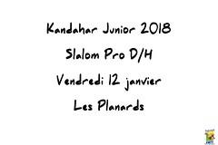 Kandahar Junior, Géant Pro, Les Planards