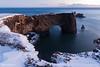 The arch (Daniel Moreira) Tags: dyrhólaey ocean snow mountains clouds iceland icelandic ísland islândia islande islanda rocks arch