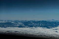 Approaching RVSM (Jean Boris HAMON) Tags: a320 airbus alps clouds cockpit colors fe1004004556gmoss france inflight liners mountains snow chevrières auvergnerhônealpes fr