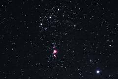 Orion the Hunter (Mr. Szabi) Tags: orion nebula contellation m42 m43 rigel alnitak alnilam mintaka space spacescape sky skyscape interstellar astro astronomy astrophotography dss astrometrydotnet:id=nova2389629 astrometrydotnet:status=solved