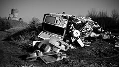 Mille ans nous séparent (Un jour en France) Tags: monochrome château abandonné abandoned verlassen abbandonato abandonado 捨てられました مهجور 棄 opuszczony