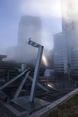 15/365 (Ell@neese) Tags: fog gloomy sunless beauty city sun beam skyscraper sky clouds vancouver canada british columbia 365 travel explore