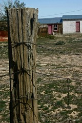Weathered Post #1, OX Ranch (fernside) Tags: mojave desert california oxranch ruin weatheredwood