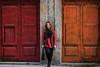 F5774 ~ Sara (Teresa Teixeira) Tags: sara porto colours doors fuji teresateixeira