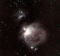 20180118 M42 & Running Man (Roger Hutchinson) Tags: m42 orionnebula runningman nebula space astronomy astrophotography london ts65quad canoneos6d