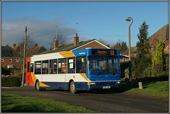 34816, Braunston (Jason 87030) Tags: dart slf pointer dennis 34816 d2 busstation lamp concrete old px06dwa red blue white orange bus rugby daventry northants northampton northamptonshire cloud sunny local january 2018 sky weather sony ilce alpha a6000 nex lens tag vafe album photostream good nice colors colour uk england embrace greatbritain
