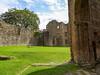 DSC04162a (Dunnock_D) Tags: uk unitedkingdom britain england shropshire blue sky green grass ludlow castle stone walls tower white clouds