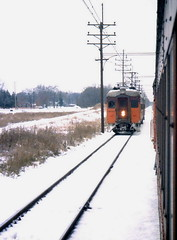 South Shore meet 12-2-78 (jsmatlak) Tags: chicago south shore bend indiana nictd electric railway interurban train railroad
