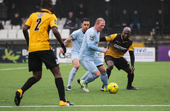 Cray Wanderers 1 Lewes 2 20 01 2018-327.jpg (jamesboyes) Tags: lewes cray bromley football bostik isthmian fa soccer action goal game celebrate celebration sport athlete footballer canon dslr