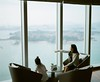 looking up the famous Gulangyu Island from Conrad Xiamen (SiuDull) Tags: childhood kidslife kid child candid buyfilmnotmegapixels filmisnotdead ishootfilm photography analog film color colour hotel conrad gulangyu 鼓浪屿 厦门 xiamen mediumformat 6x7 120film kodakportra400 pentaxsmc105mmf24 pentax67ii pentax67