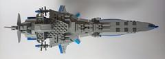 The Delphinus Nexo Gen (Stevolteon) Tags: lego skiesofarcadia delphinus airship eternalarcadia