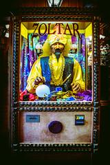 I wish... (chris alma jose) Tags: roadtrip walldrug southdakota zoltar arcade fortuneteller machine big makeawish