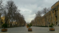 The national garden in Tehran (afs.harp) Tags: trees tehran sky cloudy clouds historical history old