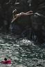 Taking a leap (radargeek) Tags: hawaii maui isleofmaui cliff jumping diving kapalua may 2017 namalubay bikini