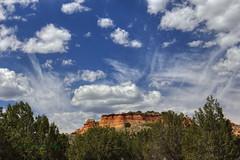 Coyote Buttes cloud show (Chief Bwana) Tags: az arizona pariaplateau navajosandstone coyotebuttessouth cottonwoodcove psa104 chiefbwana