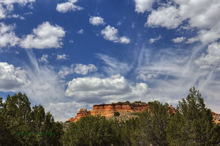 Coyote Buttes cloud show