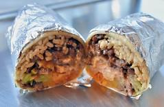 Bulgogi Kimchi Burrito (jpellgen (@1179_jp)) Tags: california ca norcal bayarea food foodporn travel nikon 2018 january winter sigma 1770mm d7200 westcoast usa america sf sanfrancisco hrd burrito kimchi koreanfood fusion rice bulgogi mexican mexicanfood downtown