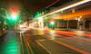 (Attila Pasek) Tags: bus car light longexposure longexposuretime night street traffic trail