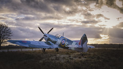 Spitfire fighter aircraft (evb-photography) Tags: nationalmilitarymuseum nationaalmilitairmuseum spitfire supermarine 3wb