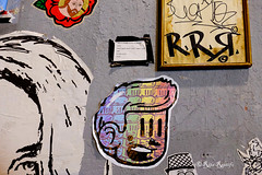 Roma. Trastevere. Street art by Jesus tifa Toro, Disgusto, Pupo Bibbito, and... (R come Rit@) Tags: italia italy roma rome ritarestifo photography streetphotography urbanexploration exploration urbex streetart arte art arteurbana streetartphotography urbanart urban wall walls wallart graffiti graff graffitiart muro muri artwork streetartroma streetartrome romestreetart romastreetart graffitiroma graffitirome romegraffiti romeurbanart urbanartroma streetartitaly italystreetart contemporaryart artecontemporanea artedistrada underground trastevere rionetrastevere artesustrada streetoncanvas rrr cono zona resh culto hober pizar pupobibbito jesustifatoro disgusto poster posterart colla glue paste pasteup
