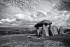 Pentre Ifan (Max Hawkins) Tags: wales ancient burial monument pembrokeshire stone dolmen chamber history pentre ifan age religion uk neolithic tourism welsh standing landmark stones tomb mythology megalithic prehistoric architecture spiritual religious archaeology druid archeology grave rock ruin historical travel celtic symbolic sky british clouds heritage past scenic bw black white