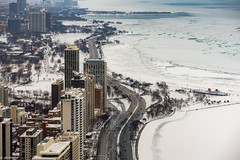 Day 2 Nikon D850 (jnhPhoto) Tags: jnnhphoto chicago chicagoskyline lakemichigan lake lakeshoredrive northavebeach snow snowstorm