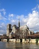 Notre Dame, París. (Santos M. R.) Tags: catedral parís francia notredame sena