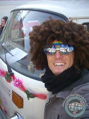Afro Hippie Style! (partyinfurgone) Tags: affitto carnevale mortara cocktail epoca evento furgone hippie limousine maschera milano noleggio nozze openbar promo promozione pubblicità pulmino storico vintage volkswagen vw