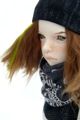 Blanche comme neige ? (♥ Nyu.) Tags: asian doll bjd ball jointed msd mind dim annabeth snow