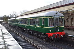 Class 109 E50416 & E56171 (Will Swain) Tags: east lancs railway scenic railcar weekend 4th november 2017 lancashire elr preserved heritage class 109 e50416 e56171 50416 56171 train trains rail railways transport travel uk britain vehicle vehicles country england english north west