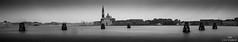 San Giorgio Maggiore Black and White Seven Bricole (ulibelli) Tags: venice venezia venecia veneza venise venedig венеция مدينةالبندقية 威尼斯 वेनिस ベニス