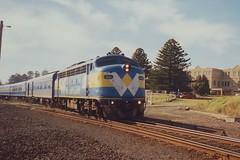 B61 Warrnambool (tommyg1994) Tags: west coast railway wcr emd b t x a s n class vline warrnambool geelong b61 b65 t369 x41 s300 s311 s302 b76 a71 pcp bz acz bs brs excursion train australia victoria freight fa pco pcj