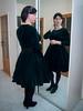 Velvet retro (blackietv) Tags: green velvet dress full skirt petticoat housewife vintage retro tgirl transvestite crossdresser crossdressing transgender mirror