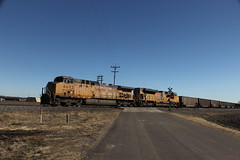 56921 (richiekennedy56) Tags: unionpacific sd70ace ac44cw up8662 up6692 kansas shawneecountyks topeka menoken railphotos unitedstates usa