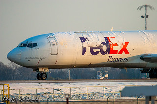 N279FE FedEx | Boeing 727-233(A)(F) | Memphis International Airport