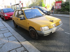 1992 Peugeot 205 Junior Diesel (occama) Tags: k272gya peugeot 205 yellow junior old cornwall uk french