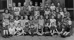 Class Photo (theirhistory) Tags: children kids boys school class form trousers shirt jumper wellies girls teacher shorts shoes sandals boots
