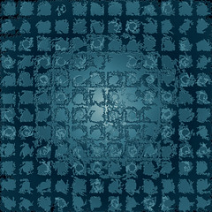 cracked blue tone squares background (Ciddi Biri) Tags: cracked squares bluetone abstract wallpaper pattern background backdrop decoration creative modern design m43turkiye ciddibiri illustration graphicdesign geometricpattern symmetricpattern