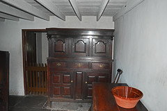 No. 1 Rhyd-y-Car Cottages (cmw_1965) Tags: rhydycar terrace terraced houses merthyr tydfil st fagans museum wales welsh miners cottages 18th century 19th georgian victorian hanoverian richard crawshay ceiling beams joists exposed flagstone floor whitewashed cabinet cupboard dresser chest chair